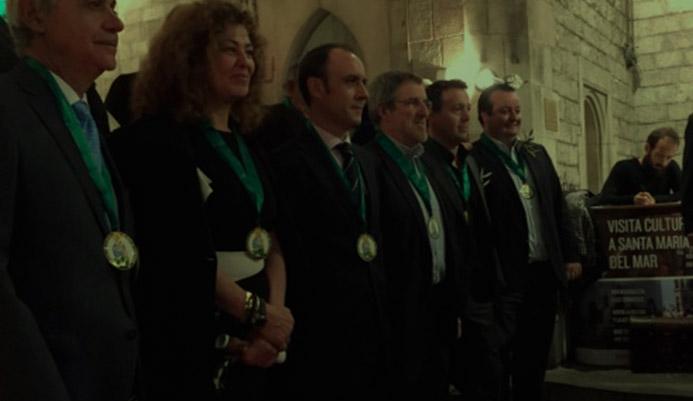 Ceremonia en honor a la Mare de Deu de L Olivera