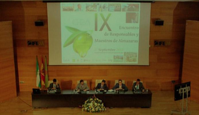 X Encuentro de Responsables y Maestros de Almazaras-15 septiembre 2016 Jaén