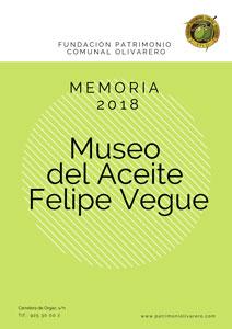 Memoria Museo 2018